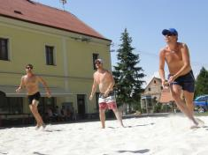 Turnaj mikroregionu v plážovém volejbale