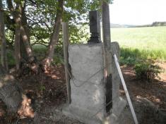 Oprava křížku na pískách 28.7.2012